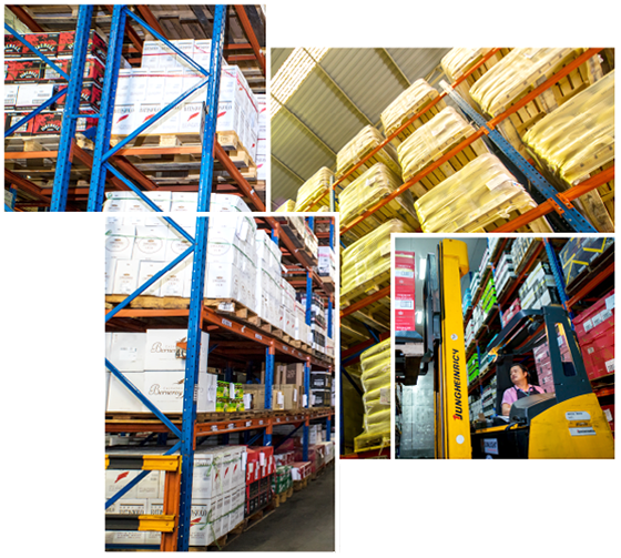 SDR warehousing services
